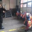 Wizyta w straży pożarnej - Frogs